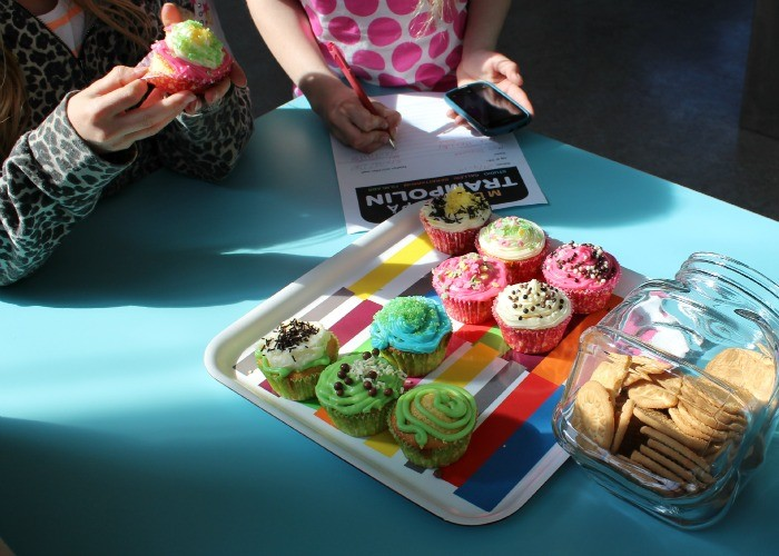 Cupcakes Trampolin