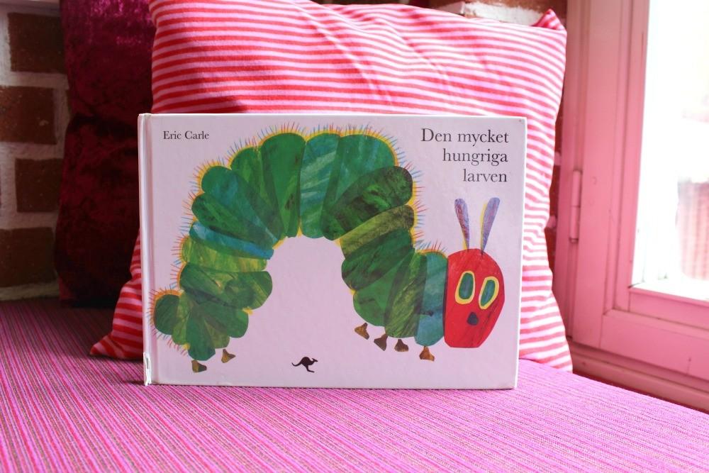 Den mycket hungriga larven av Eric Carle
