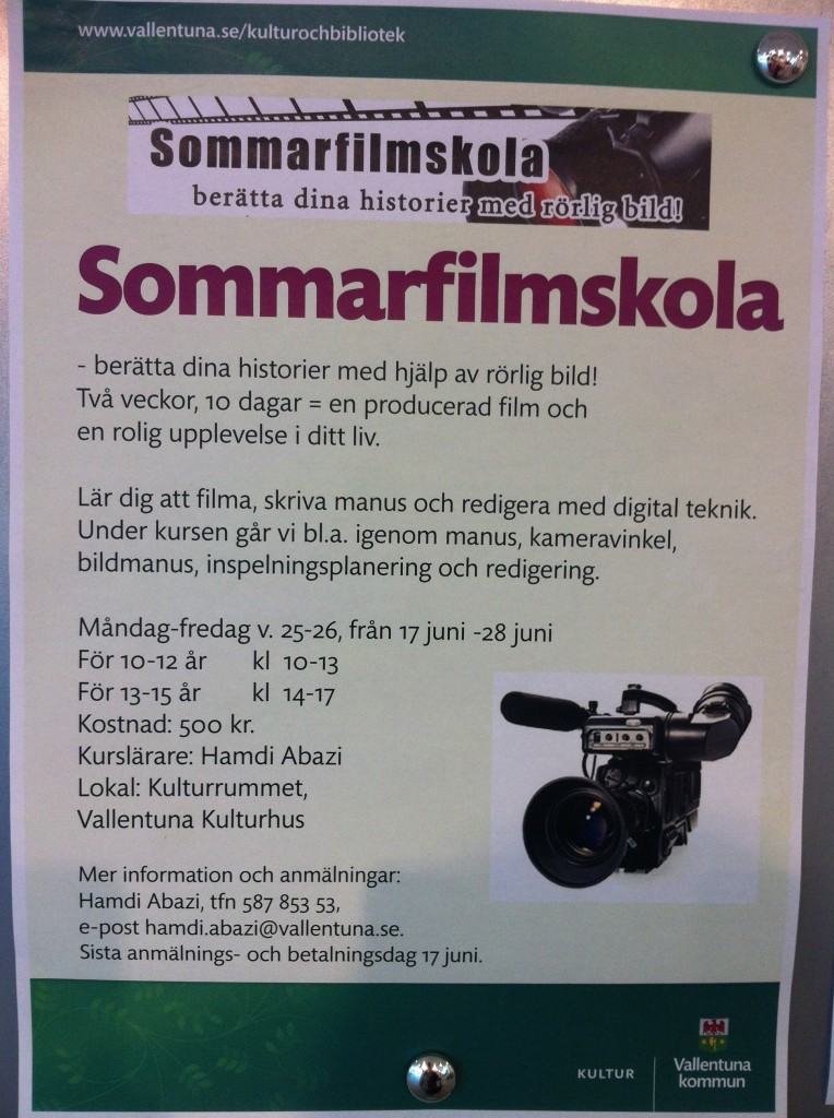 Sommarfilmskola