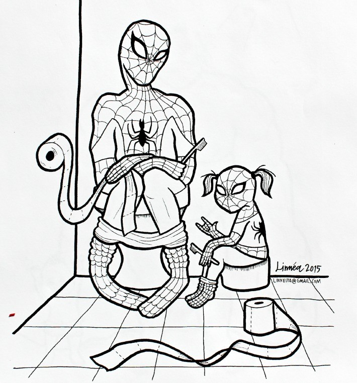 Superhjältar 2 Litteraturhuset Trampolin