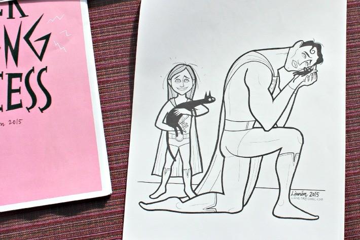 Superhjältar 3 Litteraturhuset Trampolin