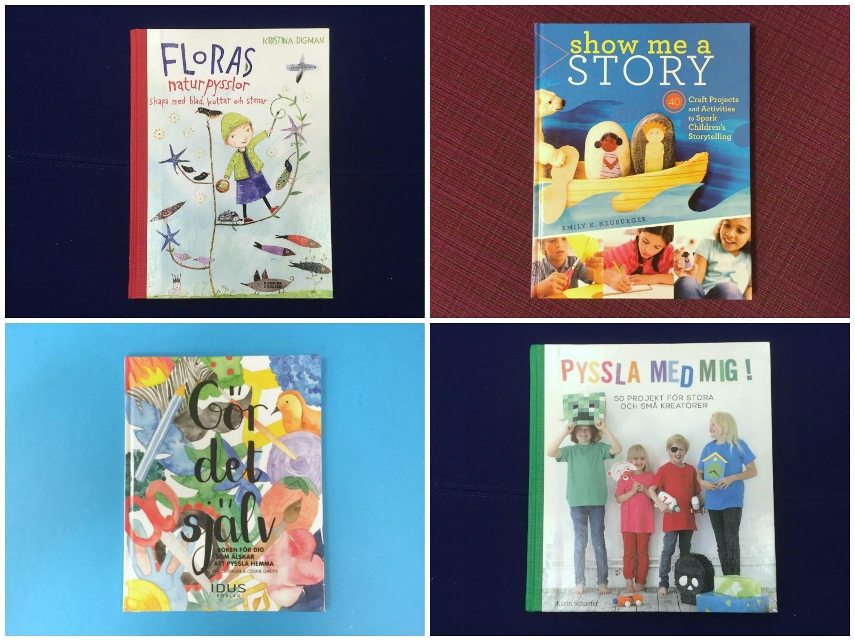 Pysselböcker collage