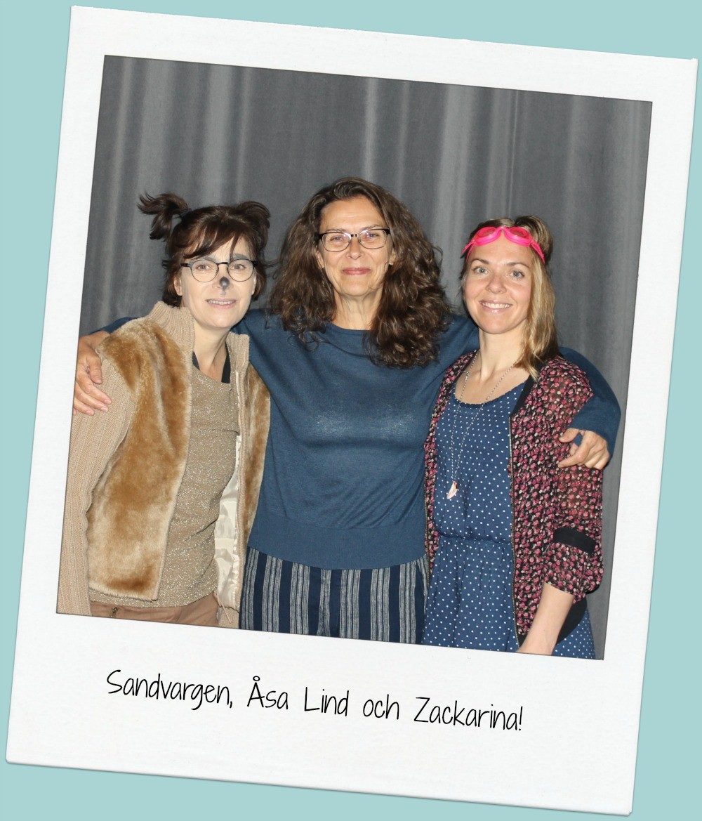 Sandvargen, Åsa Lind och Zackarina